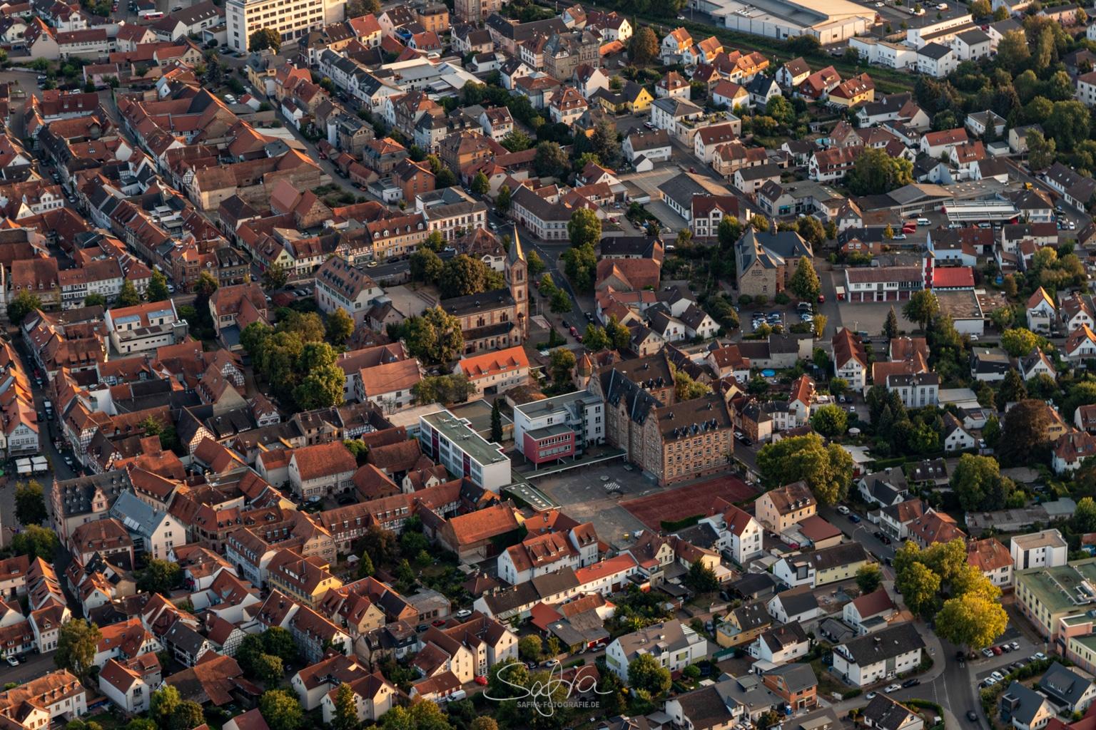 Heißluftballonfahrt, Groß Umstadt