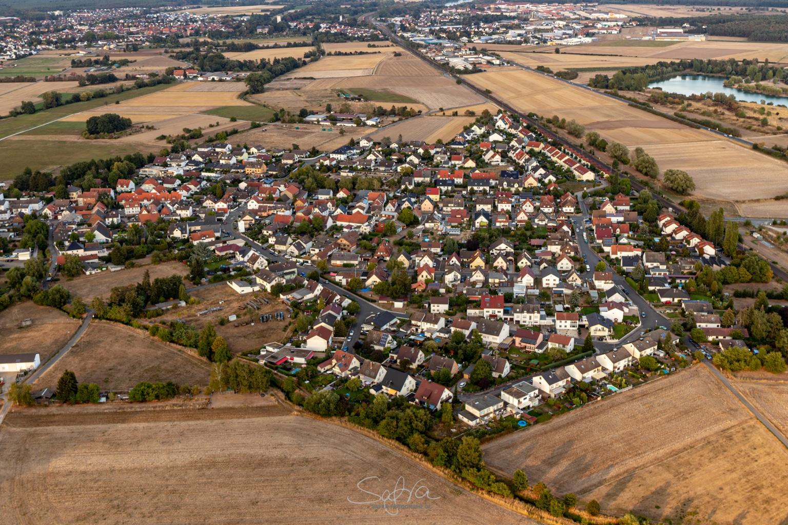 Heißluftballonfahrt, Sickenhofen