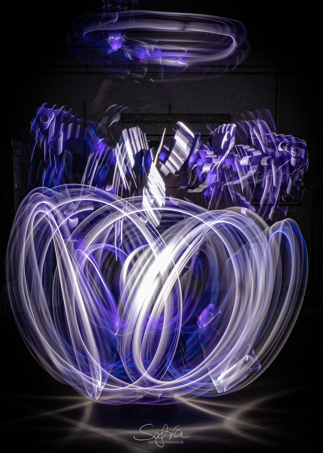 Lightpainting, Taschenlampen