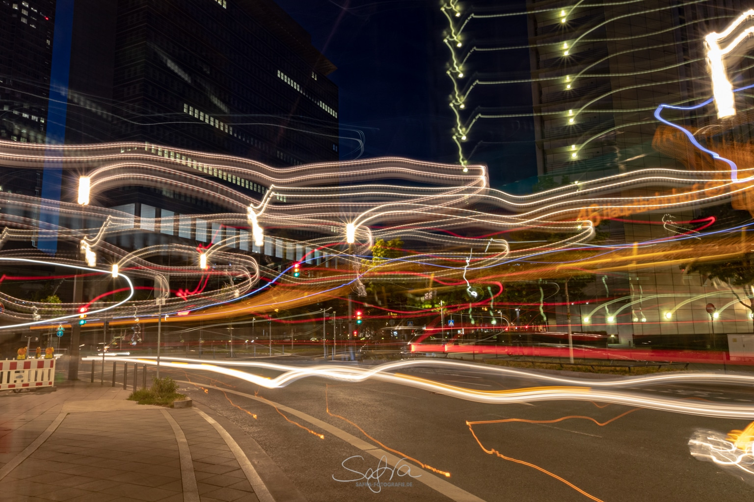 Frankfurt, Lightpainting