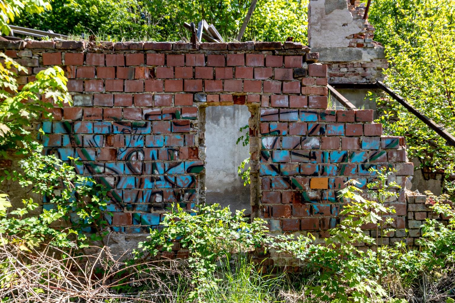 Chemnitz, Mauerreste