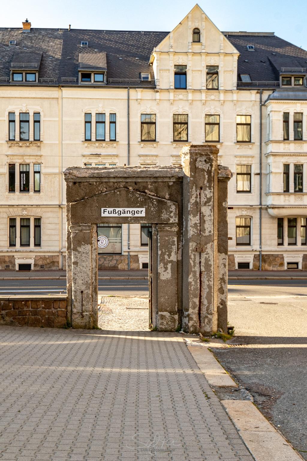 Chemnitz, Durchgang
