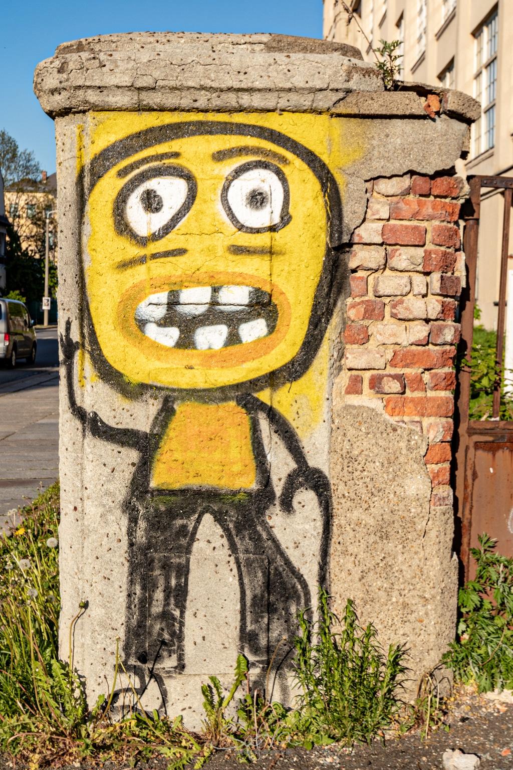 Chemnitz, Grafitti