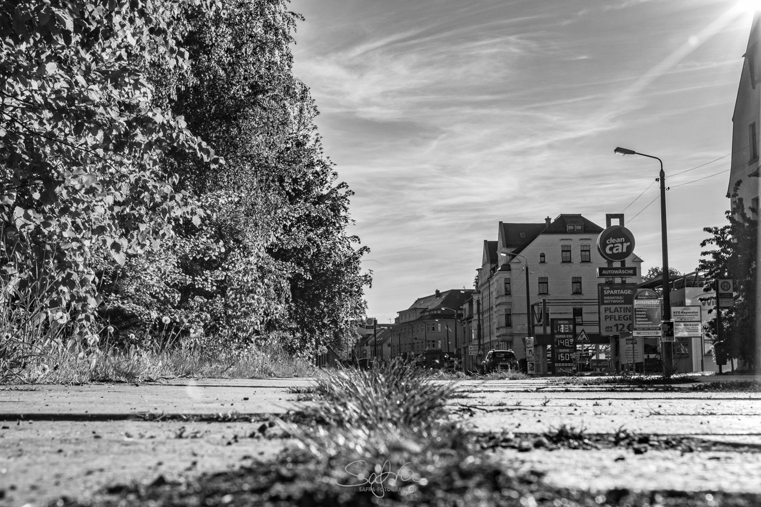 Chemnitz, Gehweg