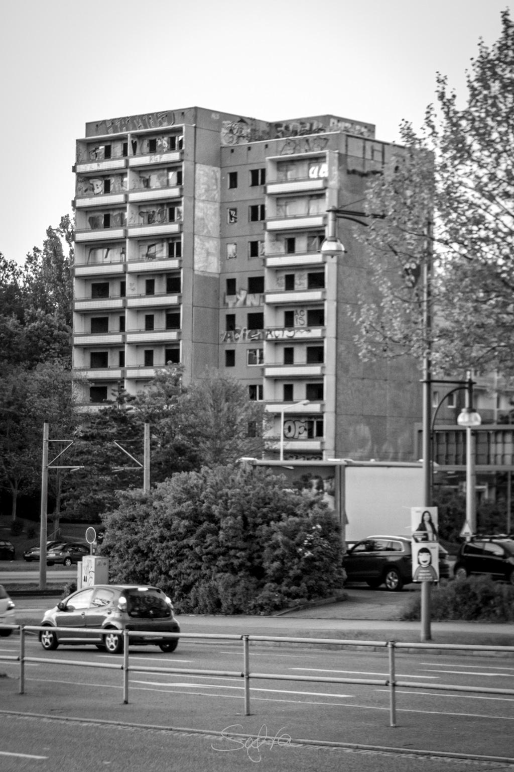 Chemnitz, Hochhaus