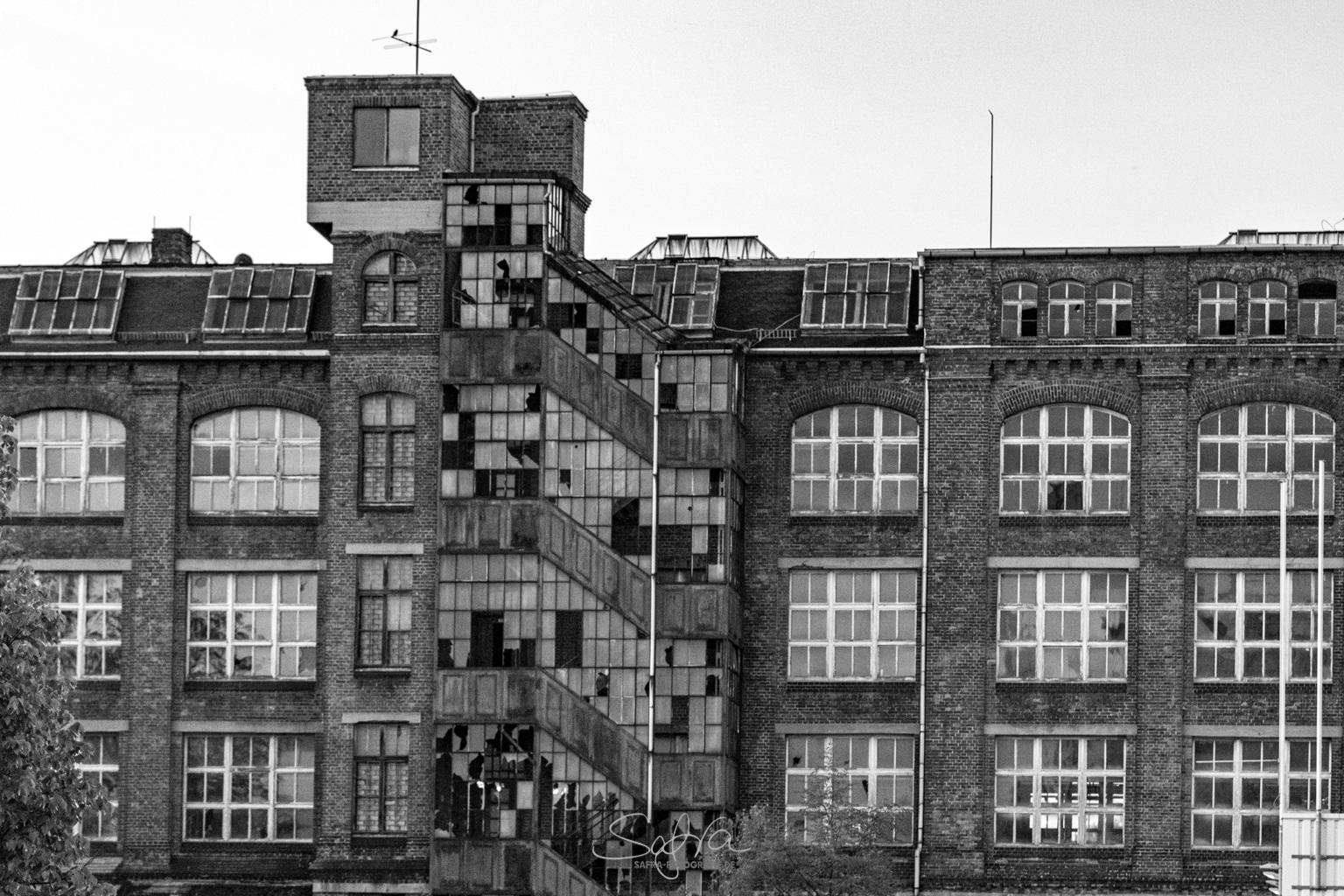 Chemnitz, durchlüftetes Treppenhaus