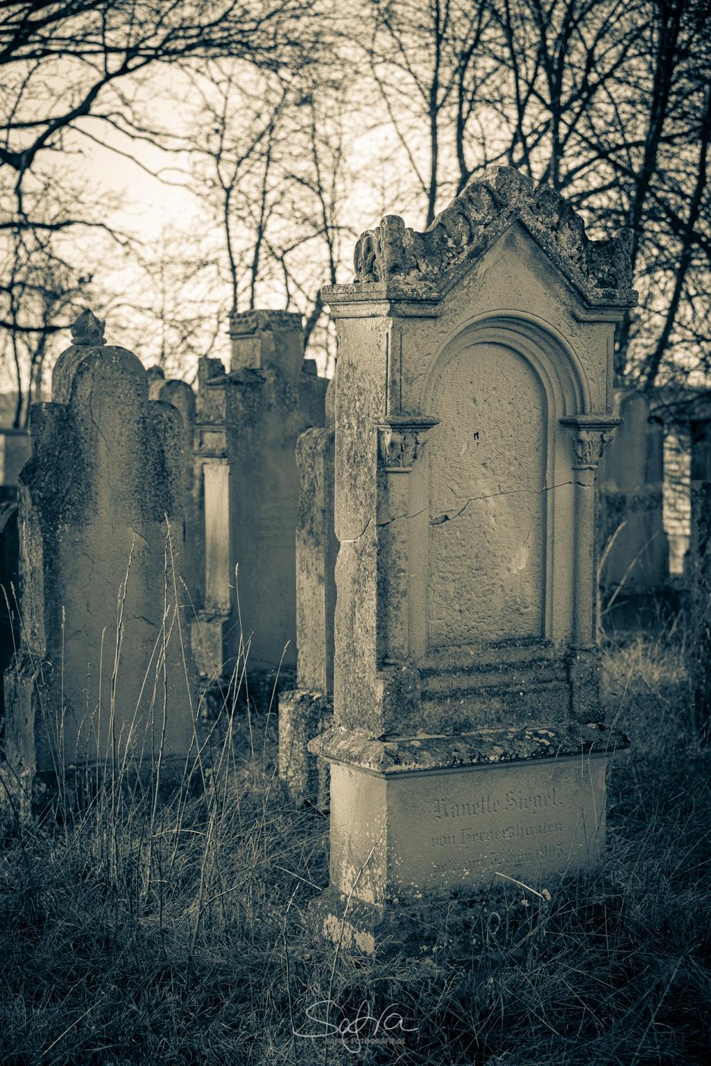 Sickenhofen, Judenfriedhof
