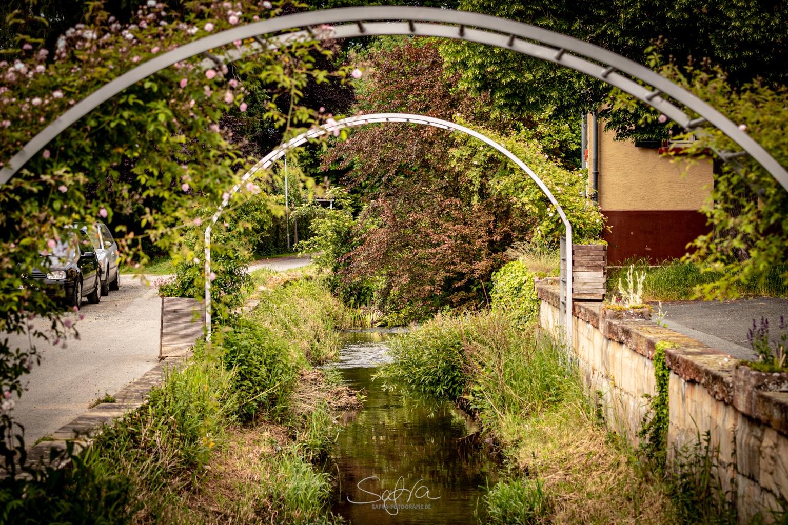 Sickenhofen, Bachlauf