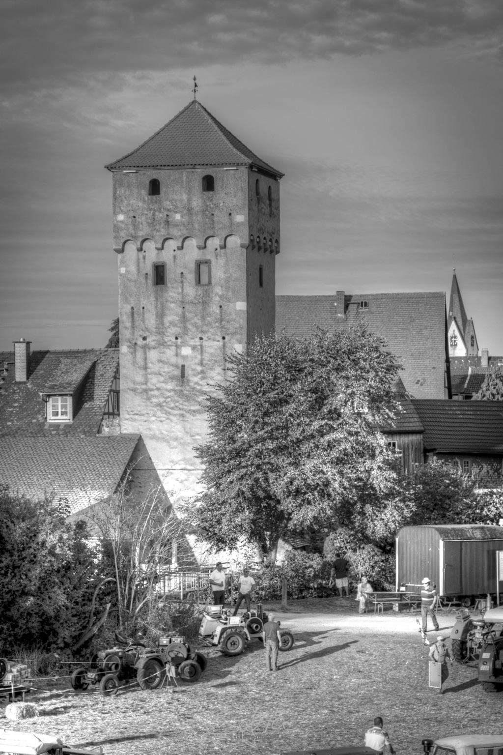 Babenhausen, Altstadtfest, Hexenturm