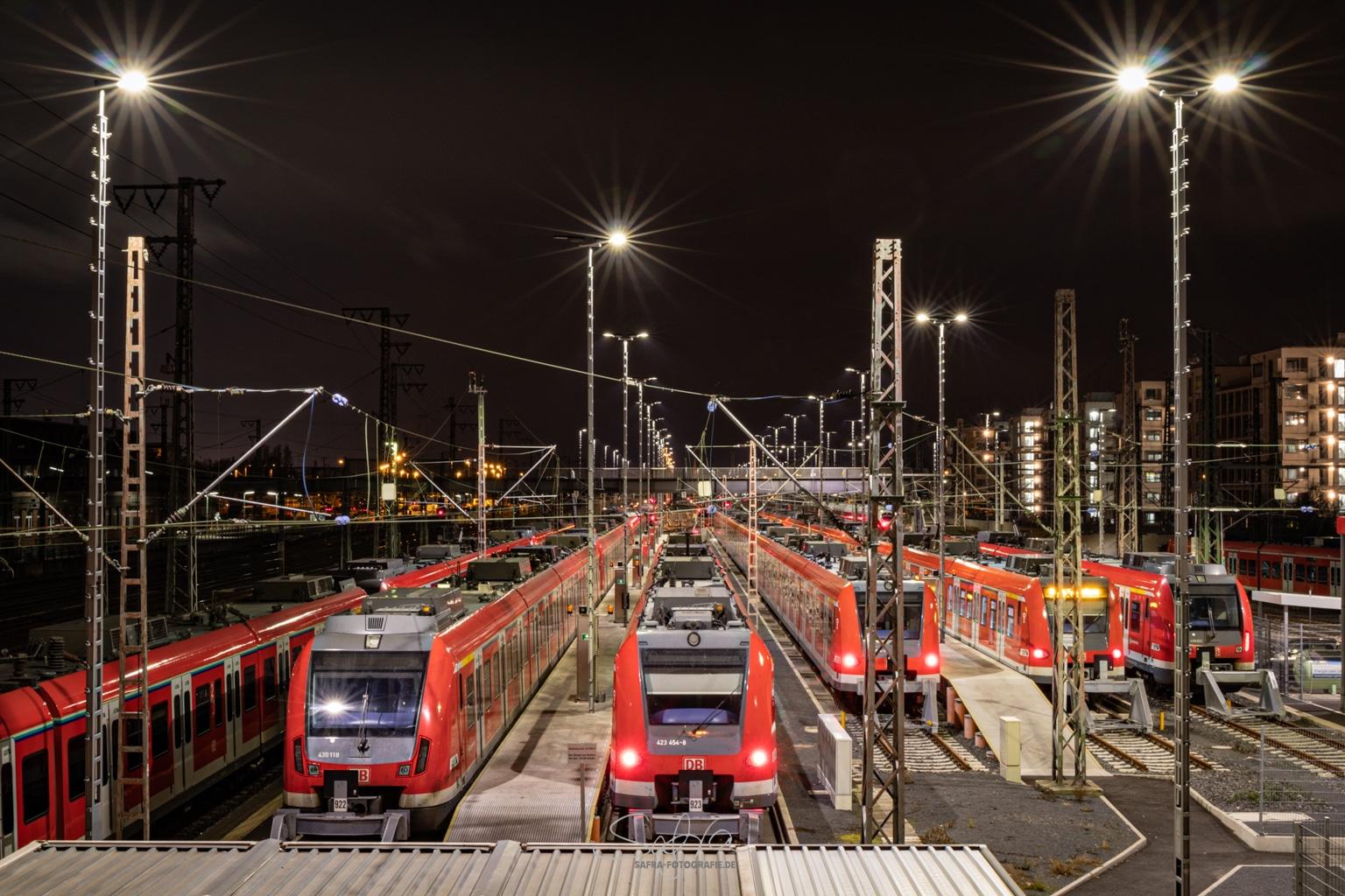 Frankfurt, letzten Zug verpaßt
