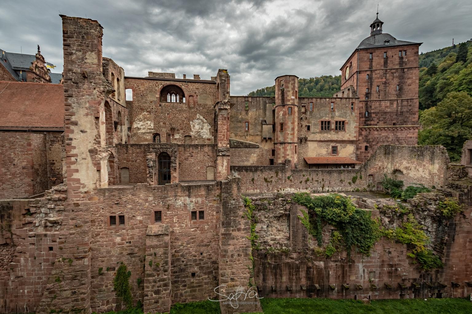 Heidelberg, ganz schön kaputt